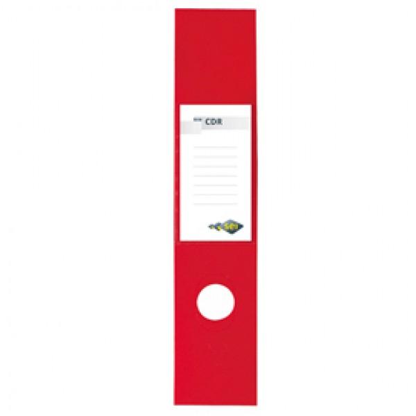 Copridorso CDR - PVC adesivo - rosso - 7x34,5 cm - Sei Rota - conf. 10 pezzi