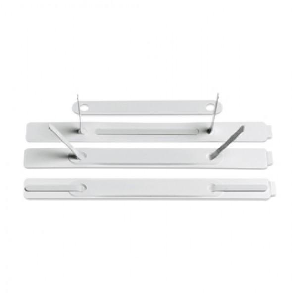 100 Pressini Adesivi 15x150mm C/Linguetta In Metallo Art.360 - 360-B