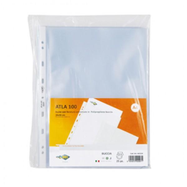 Buste forate Atla - medium - buccia - 15x21 cm - trasparente - Sei Rota - conf. 25 pezzi