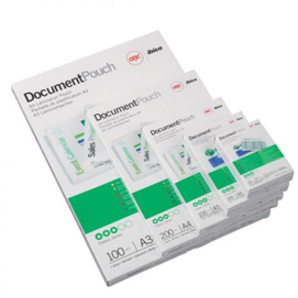 Pouches - carta credito - 54x86 mm - 2x125 micron - GBC - scatola 100 pezzi