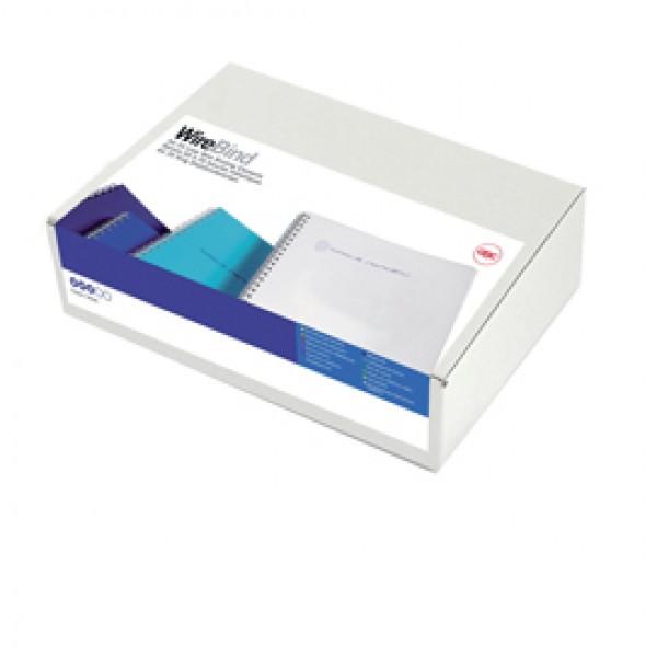 Dorsi spirale - metallo - 34 anelli passo 3:1 - 14,3 mm - bianco - GBC - scatola 100 pezzi