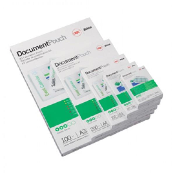 Pouches - A5 -154x216 mm - 2x75 micron - GBC - scatola 100 pouches