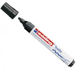 Marcatore per tessuti Edding 4500 - nero - tonda - 2-3 mm - e-4500 001 - E-4500 001