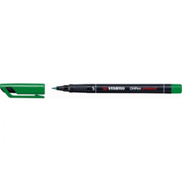 Pennarello OHPen universal permanente 841  - punta superfine 0,4 mm - verde - Stabilo