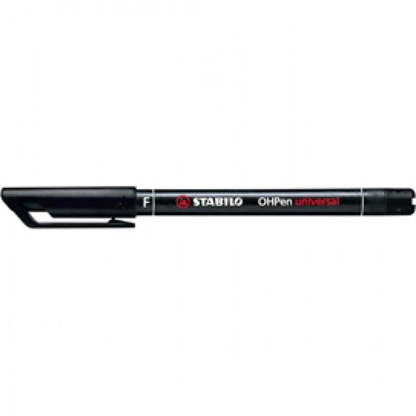 Pennarello OHPen universal permanente 842  - punta fine 0,7 mm - nero - Stabilo
