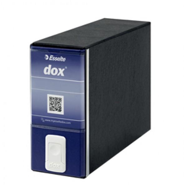 Registratore Dox 3 -  dorso 8 cm - memorandum 23x18 cm - blu - Esselte