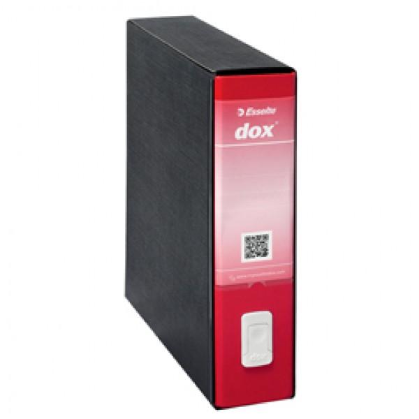 Registratore Dox 9 - dorso 8 cm - 35x31,5 cm - rosso - Esselte