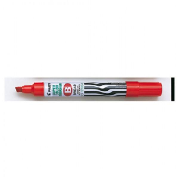 Marcatore Super Color - permanente - punta scalpello 5 mm - rosso - Pilot