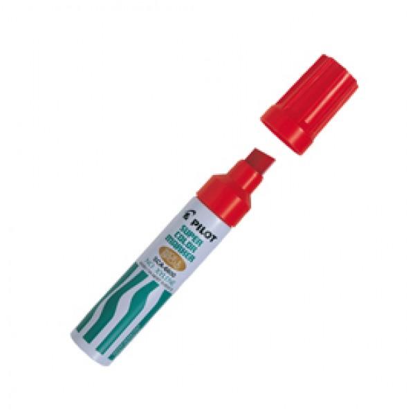 Marcatore Super Color - permanente - punta maxi da 12,5 mm - rosso - Pilot