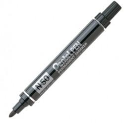 Marcatore permanente Pentel - Marcatore N50 - nero - tonda - 4,3 mm - N50-A - N50-A