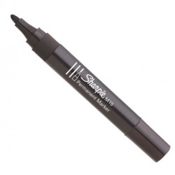 Marcatore permanente M15 - punta conica 2,00mm - nero - Sharpie