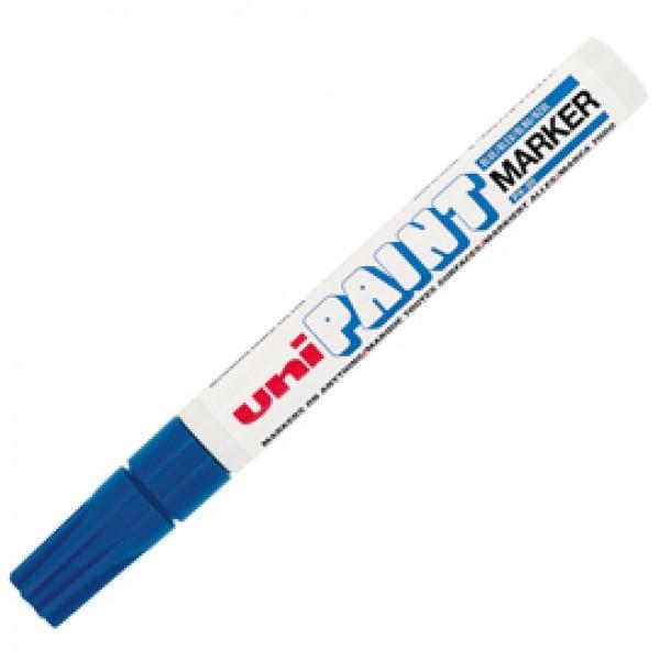 Marcatore Uni Paint PX20 - punta 2,8mm - blu - Uni Mitsubishi
