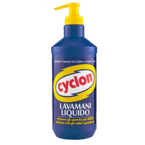 Lavamani liquido - al limone - dispenser da 500 ml - Cyclon
