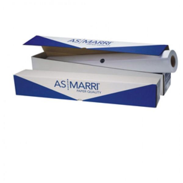 Carta Inkjet plotter J.80S - 625 mm x 50 mt - 80 gr - opaca - bianco - As Marri