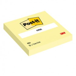 BLOCCO 100fg Post-it Giallo Canary 76x76mm 654 ( Conf. 12 ) - 23799