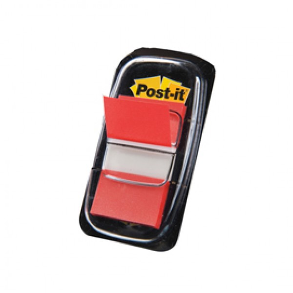 Segnapagina Post-It 680-1 Rosso 25.4x43.6mm 50fg Index - 7370