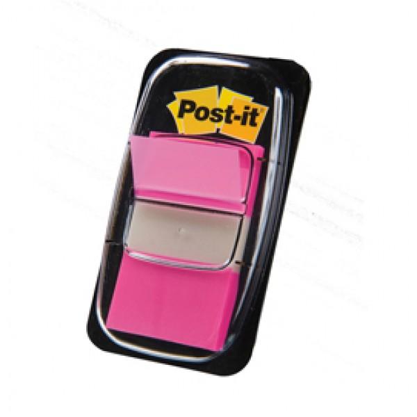Segnapagina Post-It 680-21 Rosa Vivace 25.4x43.6mm 50foglietti - 4653