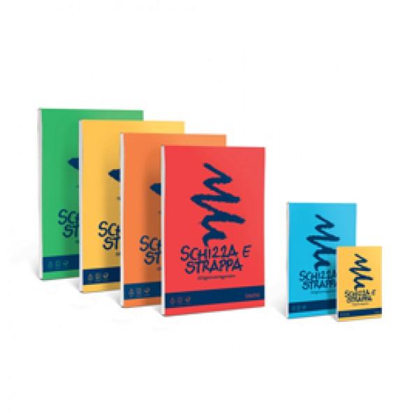 Blocco Schizza & Strappa - A6 - 105 x 148mm - 50gr - 150 fogli - Favini