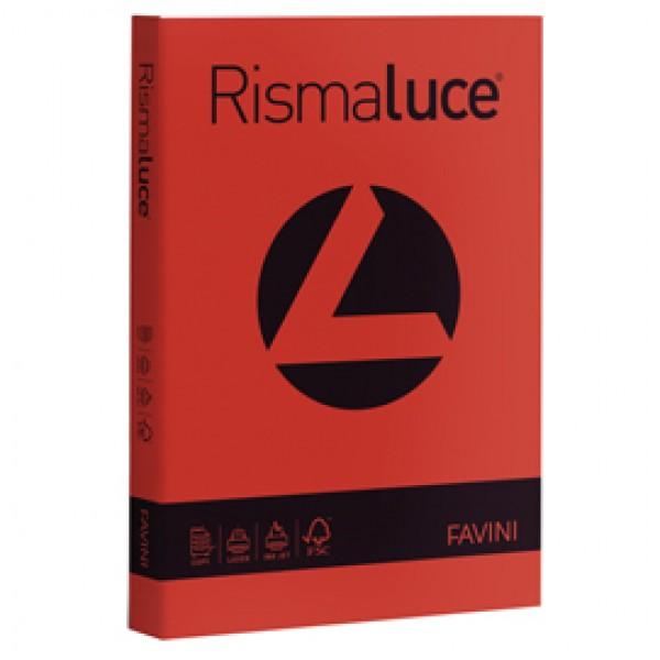 Carta e Cartoncino colorato Rismaluce Favini A4 - 140 gr. rosso scarlatto - A65C204 (risma 200)
