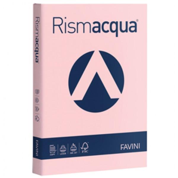 Carta e Cartoncino colorato Rismacqua Favini A4 - 140 gr. rosa - A65S204 (risma 200)