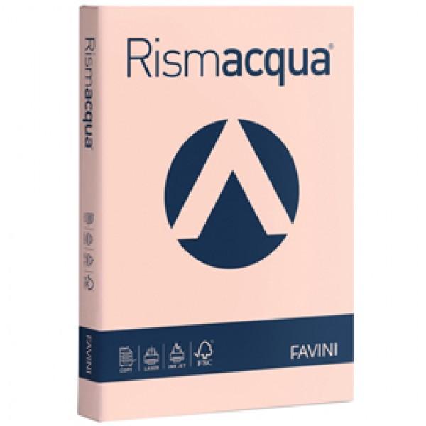 Carta RISMACQUA 140gr A4 200fg salmone 05 FAVINI