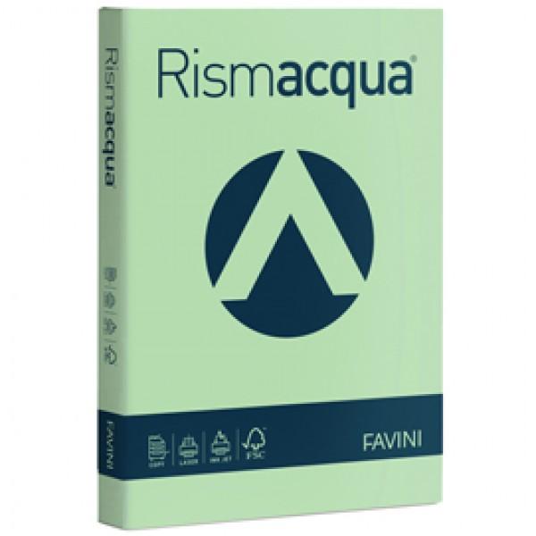 Carta e Cartoncino colorato Rismacqua Favini A4 - 200 gr. verde chiaro - A67P104 (risma 125)