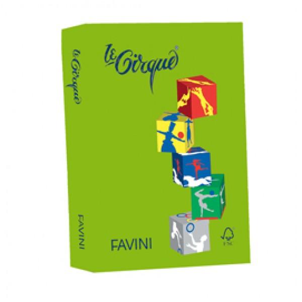 Carta LECIRQUE A4 160gr 250fg verde prato 203 FAVINI