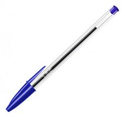 Penna a sfera Cristal - punta media 1,0mm - blu  - Bic - conf. 50 pezzi