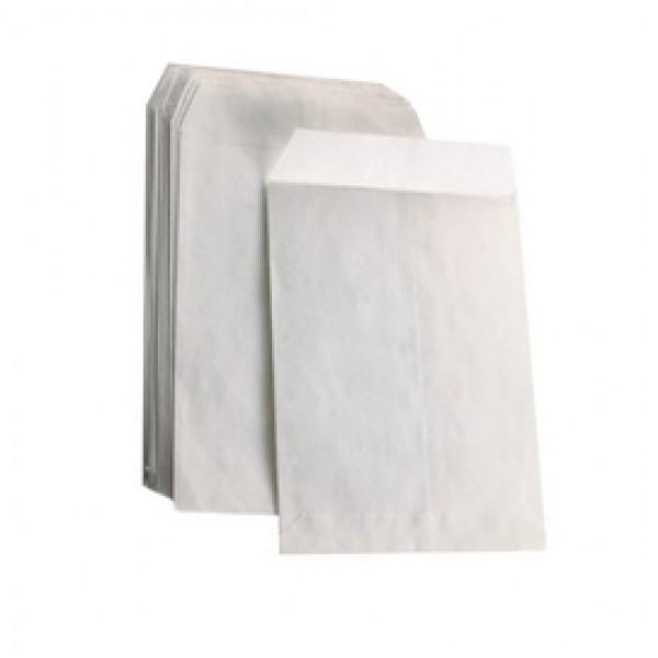Busta a sacco bianca - lembo non gommato - 130x180 mm - 60 gr - Blasetti - conf. 1000 pezzi