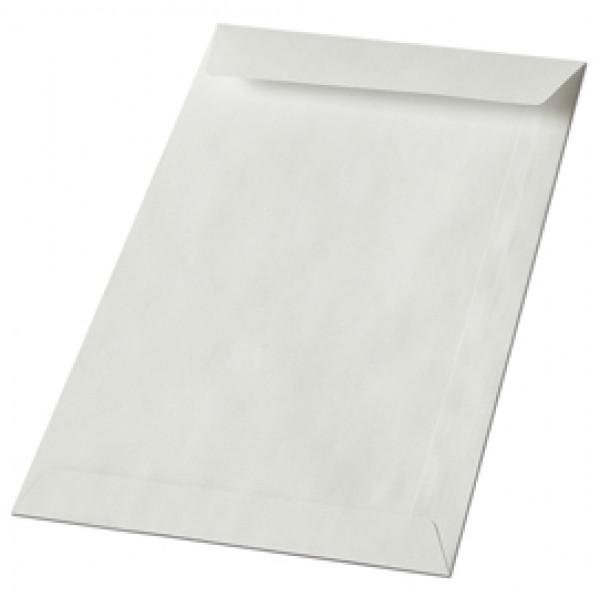 Busta a sacco bianca - lembo non gommato - 100x150 mm - 50 gr - Blasetti - conf. 1000 pezzi