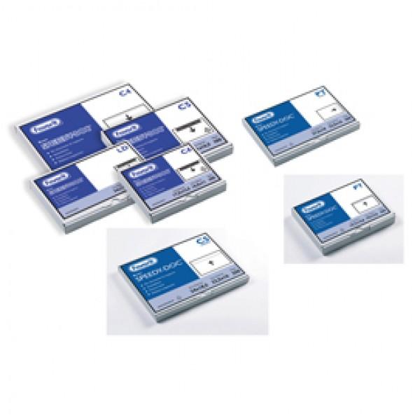 Busta adesiva Speedy Doc - con stampa CONTIENE DOCUMENTI - formato LD (230x110 mm) - Favorit - conf. 100 pezzi