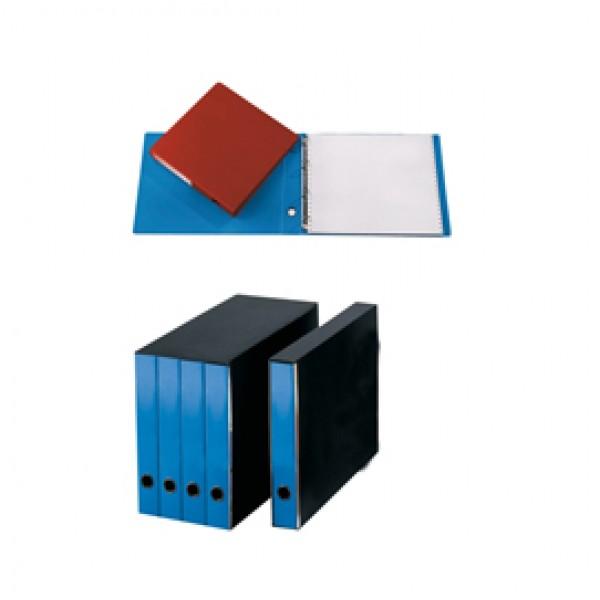 Portatabulati Singolo 4anelli 31.5x29cm Azzurro 204u ( Conf.2 ) - CG2101FEOXXAB06