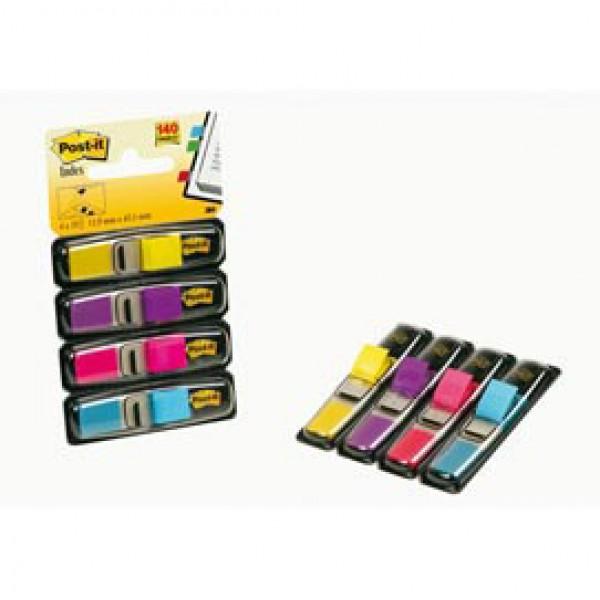 Miniset 140 Segnapagina Post-It Index 683-4ab In 4 Colori Vivaci