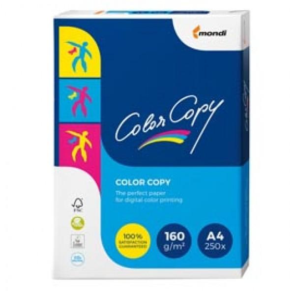 Carta Color Copy - A4 - 160 gr - bianco - Mondi - conf. 250 fogli
