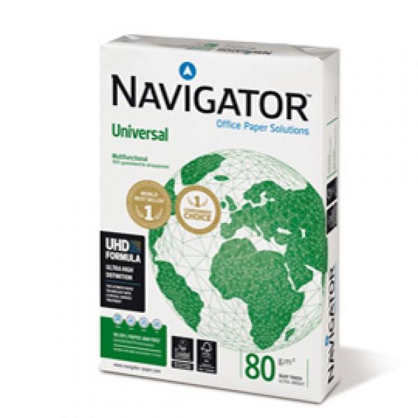 Carta A4 Navigator Universal 80 gr/mq pallet 240 risme 0198UN