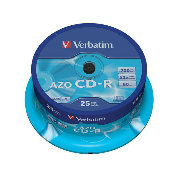 CD Verbatim - CD-R - Spindle - 52x - 43352 (conf.25)