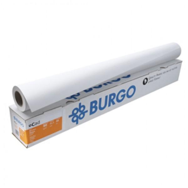 Carta Cad Eco 90 - 914 mm x 50 mt - 90 gr - opaca - bianco - Burgo