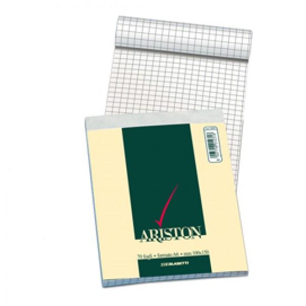 Blocco note Ariston - 5mm - 150 x 210mm - 60gr - Blasetti - blocco da 70 fogli