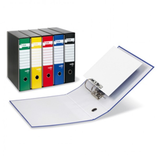 Registratore Esa P80  - dorso 8 cm  - protocollo 23x33 cm - rosso - Sei Rota