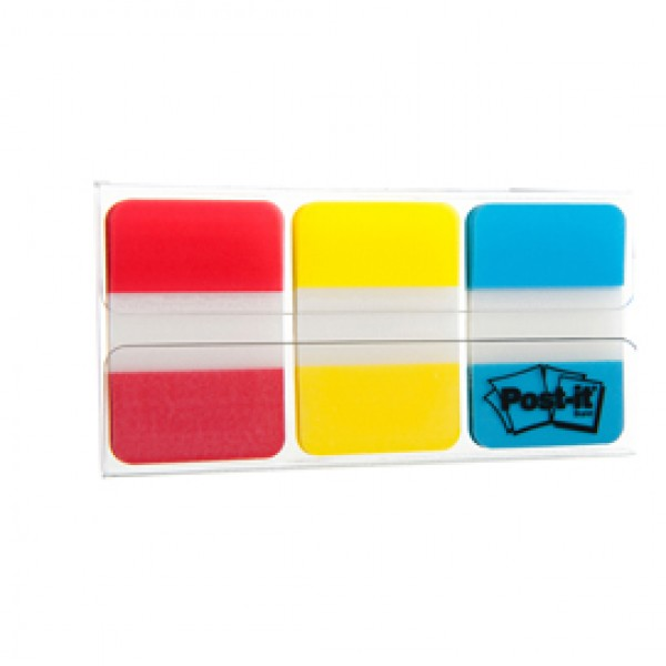 Dispenser 66 POST-IT INDEX STRONG 686-RYB 25X38MM COLORI CLASSICI - 77984