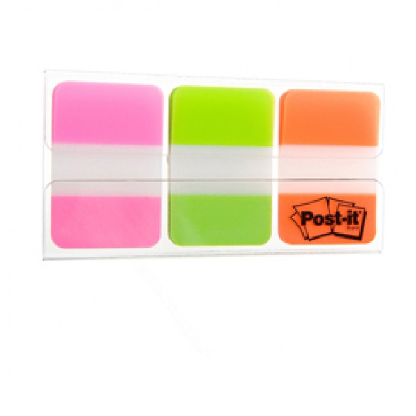 Dispenser 66 POST-IT INDEX STRONG 686-PGOEU 25X38MM COLORI VIVACI - 74474