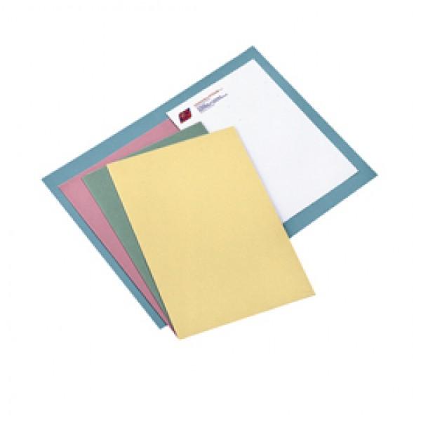 Cartelline semplici - senza stampa - cartoncino Manilla 145 g - 25x34 cm - grigio - Cartotecnica del Garda - conf. 100 pezzi
