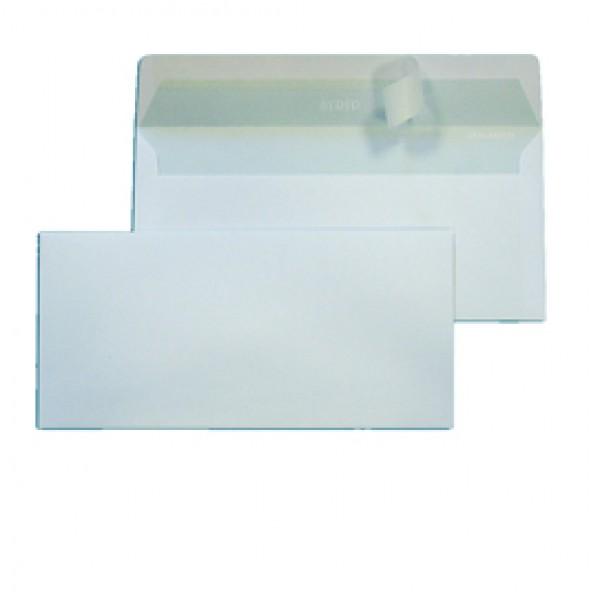 Busta bianca senza finestra - serie Strip 90 - 110x230 mm - 90 gr - Blasetti - conf. 500 pezzi