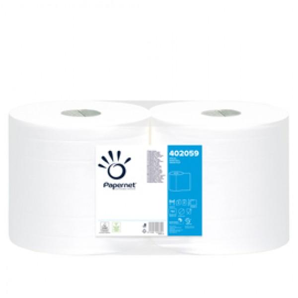 Bobina asciugatutto Special - 2 veli - microgoffrata - diametro 27 cm - 18 gr - 30,5x26 cm - bianco - Papernet