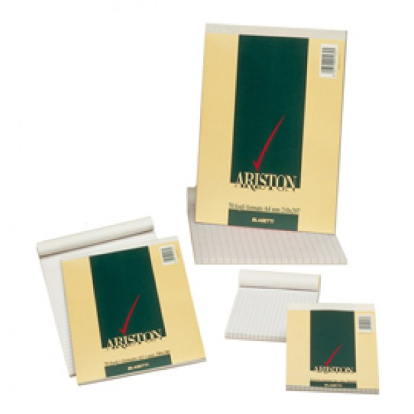 Blocco note Ariston - 5mm - 100 x 150mm - 60gr - 70 fogli - Blasetti