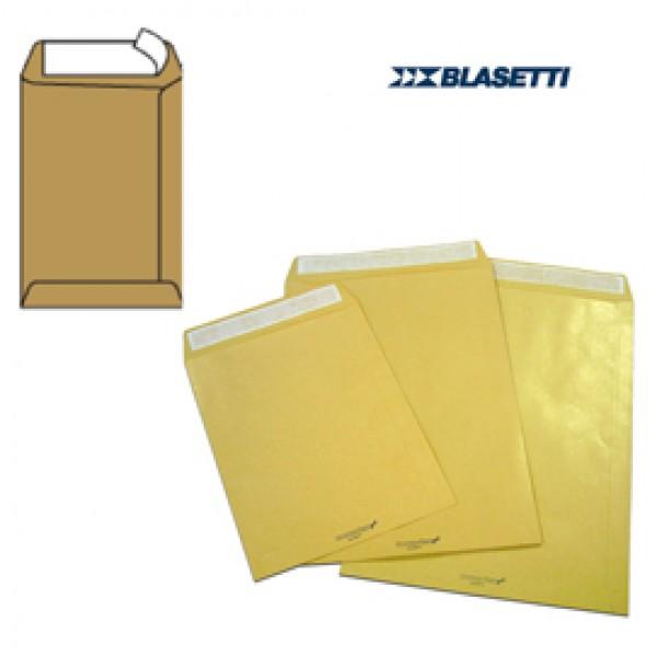 Busta a sacco avana - serie Monodex - strip adesivo - 250x353 mm - 100 gr - Blasetti - conf. 500 pezzi