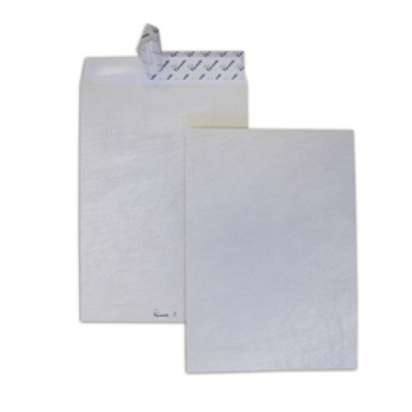 Busta a sacco in Tyvek - serie Postyvek - strip adesivo - 305x406 mm - 55 gr - Blasetti - conf. 100 pezzi