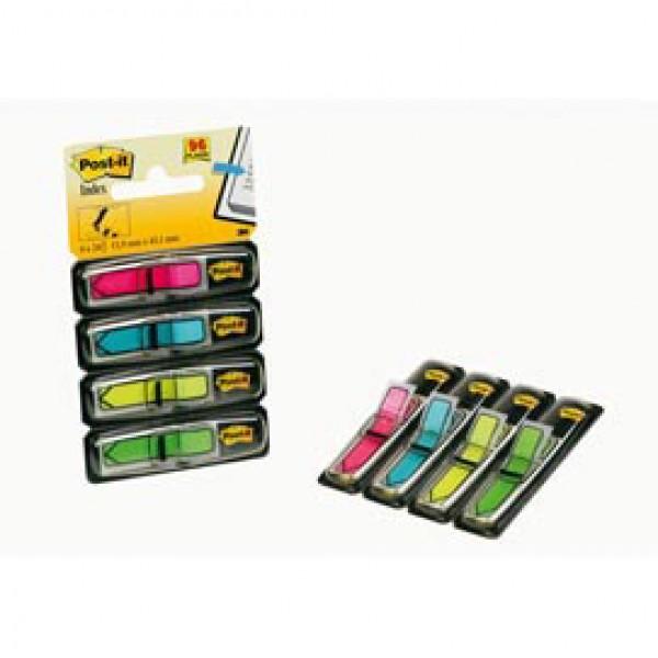 Miniset Frecce 96 Segnapagina Index 684-Arr4 In 4 Colori Vivaci