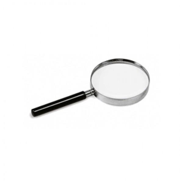 Lente di ingrandimento 1123 - diametro 7,5 cm - nero - Lebez