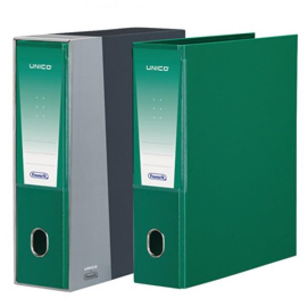 Registratore Unico - dorso 8 cm - protocollo 23x33 cm - verde - Favorit